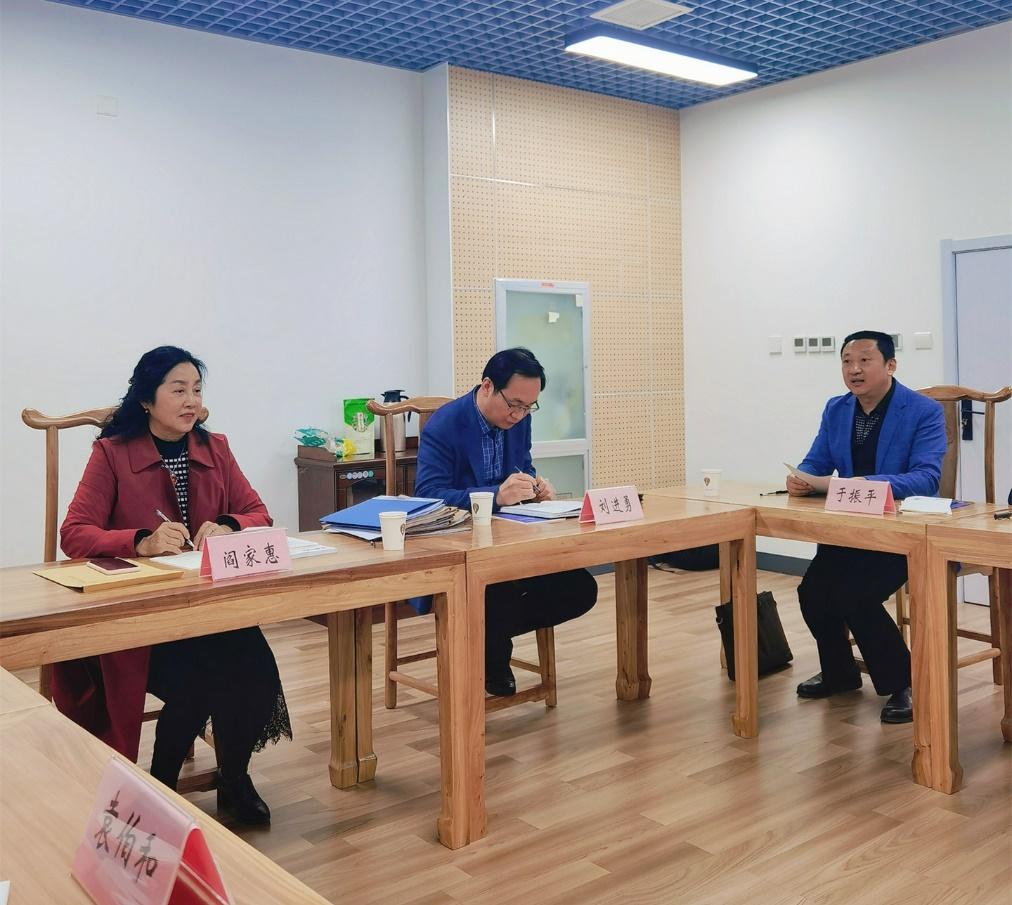 重庆市建设工程造价管理协会一行  赴山东调研交流